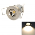 INHIDA IHD-C01A024W.W 1W 90lm 3500K 780nm LED Warm White Light Ceiling Lamp w/ LED Driver - Silver