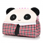 HQS-G100342 Cute Panda Style Tissue Paper Box Holder - Black + White + Red