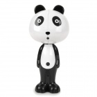Cute Cartoon Panda Style Automatically Popup Toothbrush-Holder W/ Suction Cups - Black + White