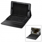Waterproof Silicone Bluetooth V3.0 78-Key Keyboard for Ipad MINI - Black