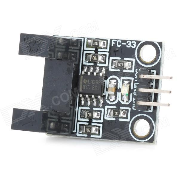 FC-33 Electric Motor Speed Sensor Module - Black + Silver smoke sensor module w relay output green black