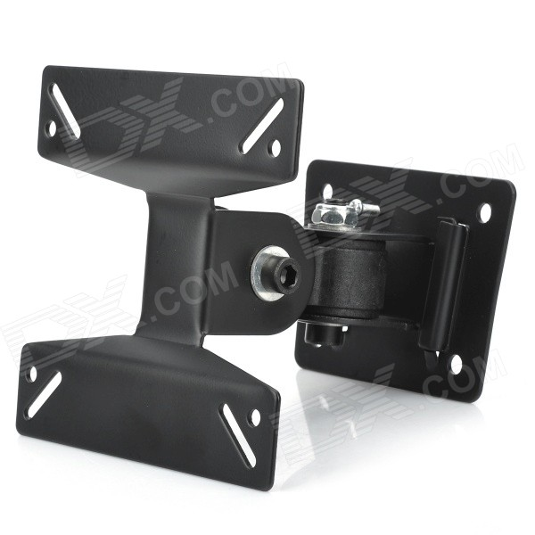 Lightweight 180 Degrees Rotatable LCD TV Wall Bracket Mount for 12~26 Screens - Black m190etn01 0 lcd display screens