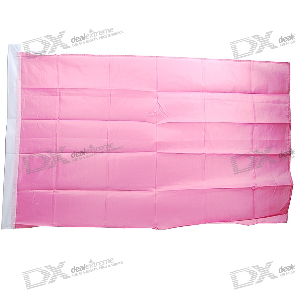 DIY Flag - Large 1.5-Meter Size (Pink)