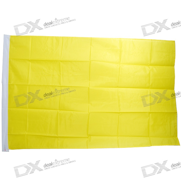 DIY Flag - Large 1.5-Meter Size (Yellow)