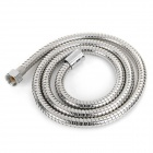 BAOMA Brass + Stainless Steel Flexible Water Pipe / Tube for Shower Head - Silver (1.5m-Length)