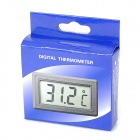 "Household 1.4"" LCD Digital Thermometer for Refrigerator / Fridge - White (2 x AG13)"
