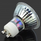 GU10 3W 336lm 3500K 24-LED Warm White Light - White + Silver (220V)