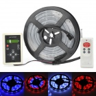 36W 150-5050 SMD LED Waterproof RGB Light Strip + RF Controller + 12V / 5A Adapter Set (US Plug)