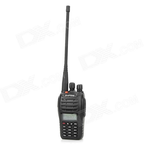 BAOFENG UV-B5 1.1 LCD Dual-Band Dual-Display Walkie Talkie w/ FM Radio / VOX - Black