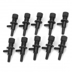 Water Tank Adjusting / Regulating Valve - Black (10 PCS)