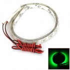 Impermeável 330lm 3w 32-SMD 3528 LED Car Light LED verde Strip (30cm / 12V / 2 PCS)