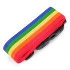 JUST LOCK TSA319C 3-Digit PC + Fiber Luggage Combination Strap Lock - Multicolored