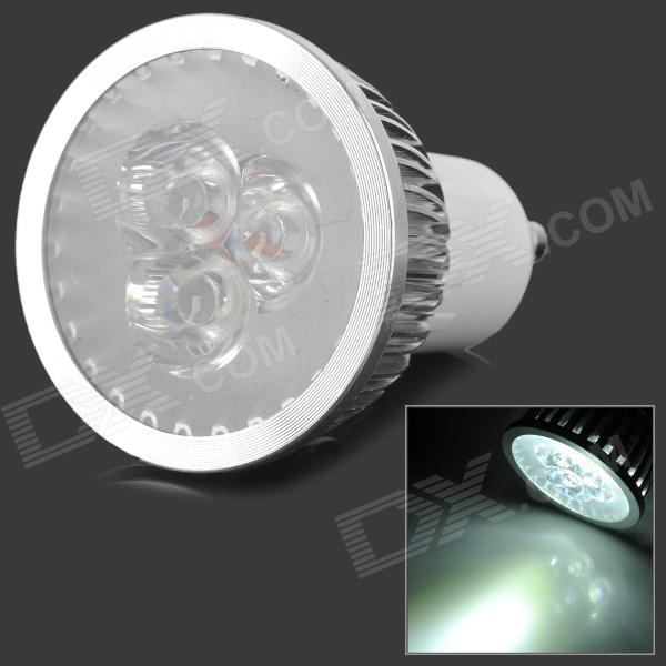 GU10-3W-W 3W 300lm 6000~6300K Cold White Light 3-LED Bulb