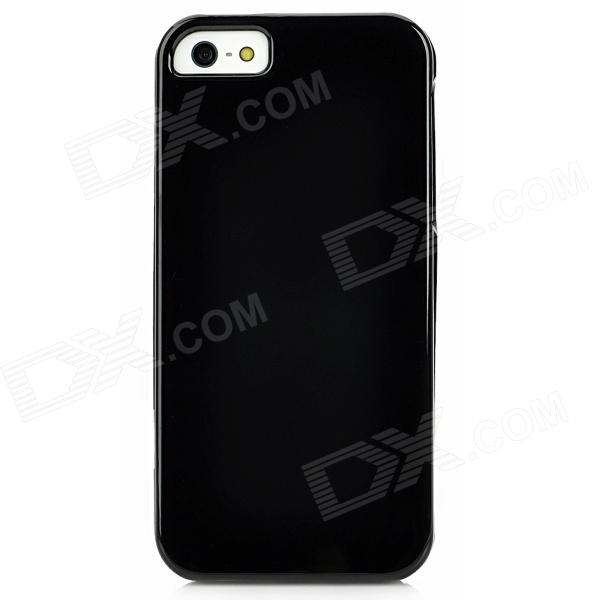 Protective Detachable Plastic Case for Iphone 5 - Black protective detachable plastic case for iphone 5 black