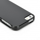Protective Detachable Plastic Case for Iphone 5 - Black