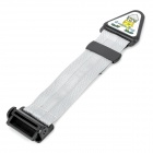 Universal Car Plastic + Nylon Cloth Safety Belt w/ Buckle for Kids - Silver + Black