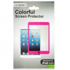 Protective PET Screen Protector Guard Film for Ipad MINI - Purple