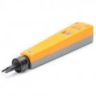 Pro'skit CP-3140 High / Low Actuation Punch Down Tool w/ 110 Blades - Light Orange Yellow