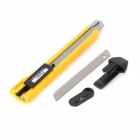 Pro'skit PD-510 Snap-off Blade Utility Retractable Knife w/ Blade - Yellow + Silver + Black