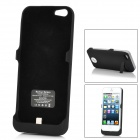 Rechargeable 2000mAh External Power Battery Case für iPhone 5 - Black
