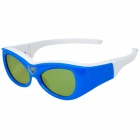 Gonbes G07-DLP 3D DLP-Link Glasses for 3D Projector - Blue + White (For Kids)