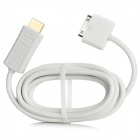 30-Pin Male to HDMI Male Cable for iPad / iPhone / iPod Touch - White (1.8m)