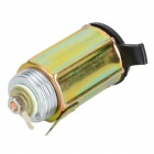 20646 Waterproof DIY Car Cigarette Lighter Power Plug Adapter - Copper + Silver