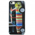 Protective Colorful Car Pattern Plastic Case for Iphone 5