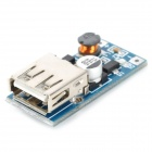 USB DC 0.9V to 5V Voltage Step-up Boost Module - Blue + Silver