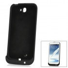 Rechargeable 4000mAh External Power Battery Case + Stand for Samsung Galaxy Note 2 N7100 - Black
