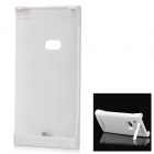 2200mAh Rechargeable External Battery Back Case for Nokia Lumia920 - White