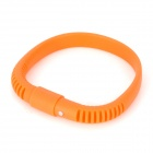 Elastic Silicone Wrist Band Shape Universal Capacitive Screen Touching Stylus Pen - Orange