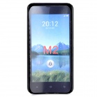 Stylish Protective Plastic Back Case for Xiaomi M2 - Black