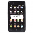 Protective Frosted TPU Tasche für Samsung Galaxy S4 i9500 - Black