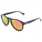 OREKA s997 UV400 Protection Stylish Resin Lens Polarized Sunglasses - Black + Red REVO