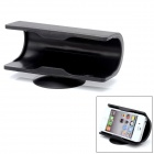 Universal Cellphone Rubber Desktop Holder w/ Suction Cup - Black