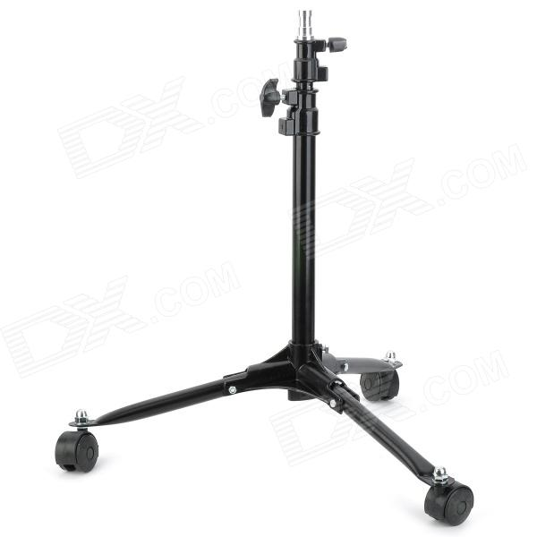 Nicefoto LS-70 Iron Tripod Mount Stand for Flash Lamp - Black - DXMounting Accessories<br>Brand Nicefoto Model LS-70 Qty 1 piece(s) per pack Color Black Material Iron + PE Socket Size No  Max Load 3 kg Max Height 70 cm Min Height 40 cm Other Features Great to hold news lights flash lamp etc. Packing List 1 x Tripod<br>