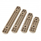 4-in-1 MOE Plastic 21mm Rail Mount for M4 Gun - Army Green