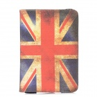 Caso Rotatable Retro Union Jack Padrão PU Leather 360 Degree Slots w / cartão para Ipad MINI
