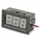 "V27D 3-Cable Digital DIY 0.56"" 3-Digit LED DC Voltmeter w/ Fine Adjustment - Black (DC 0~100V)"