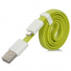 VOJO Basic Magnet USB Male to Micro USB Male Cable - Green + White (59cm)