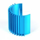 380 Motor 6061 Aluminum Alloy Cooler for 1:8 / 1:16 Car Model - Blue