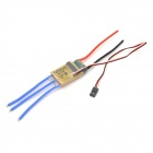 Thunder-30A-L Four-Shaft Electric Brushless ESC Adjustment w/ BEC for R/C Helicopter - Red