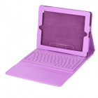 SingFire SF-KY01 Portable Wireless Bluetooth v3.0 76-Key Keyboard w/ PU Case for Ipad 1 / 2 - Purple