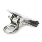 20781 Small Stainless Steel Clips - Silver (10 PCS)