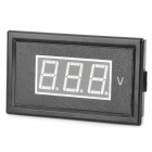 "V85A 0.56"" LED Two Line 3-Digital AC Voltmeter w/ Fine Adjustment - Black (AC 75~300V)"
