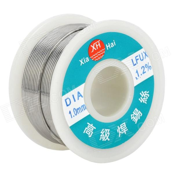 High-Quality Tin Solid Solder Wire Reel Spool - Silver (1mm / 15M)