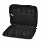 Protective EVA Dual-Zipper Full Body Case Bag for Ipad 2 / 3 / 4 - Black