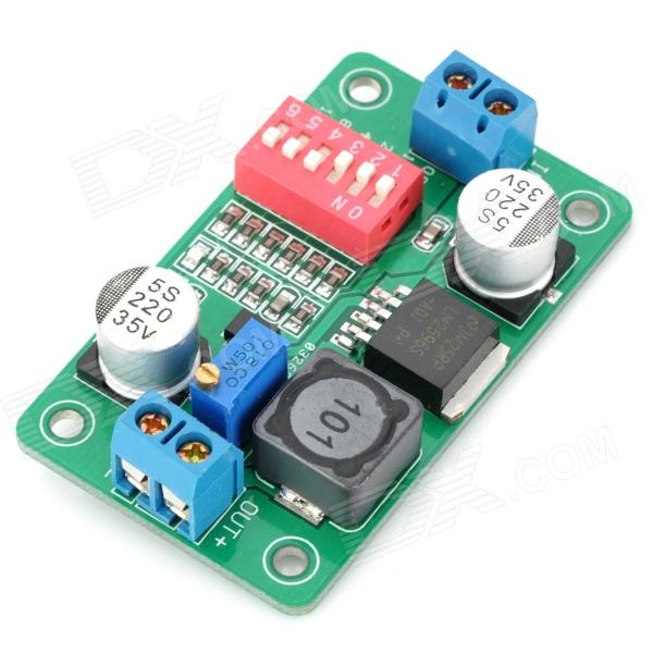 2596 DC-DC Voltage Step Down Module - Green (DC 5~36V) 10 pcs lot dc dc buck converter step down voltage module 6v 12v 20v 24v adjustable power supply 7 40v to 1 2 35v 8a 300w