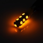 LGFOX T10 0.5W 180lm 13-SMD 5050 Bombilla LED amarillo Car Light - Amarillo